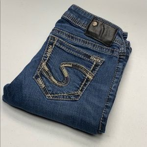 Womens Silver Jeans Aiko 28/33 @nice